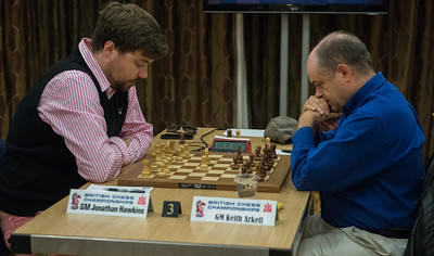 GM Jonathan Hawkins vs GM Keith Arkell