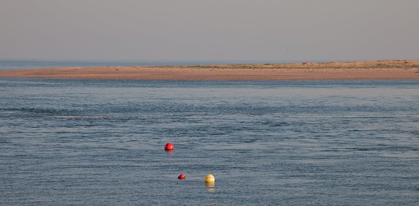 Sandbar and Buoys