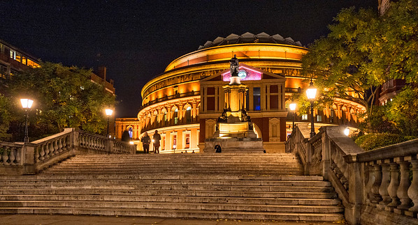 Royal Albert Hall (near chess venue)
