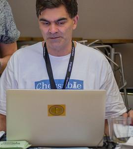 Adam Raoof, organiser