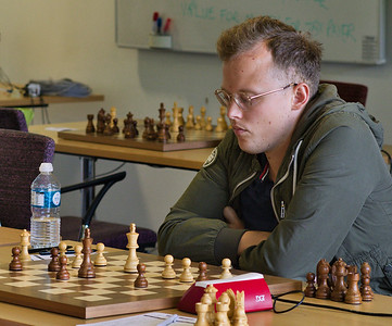 Roland Bezuidenhout, joint winner open section