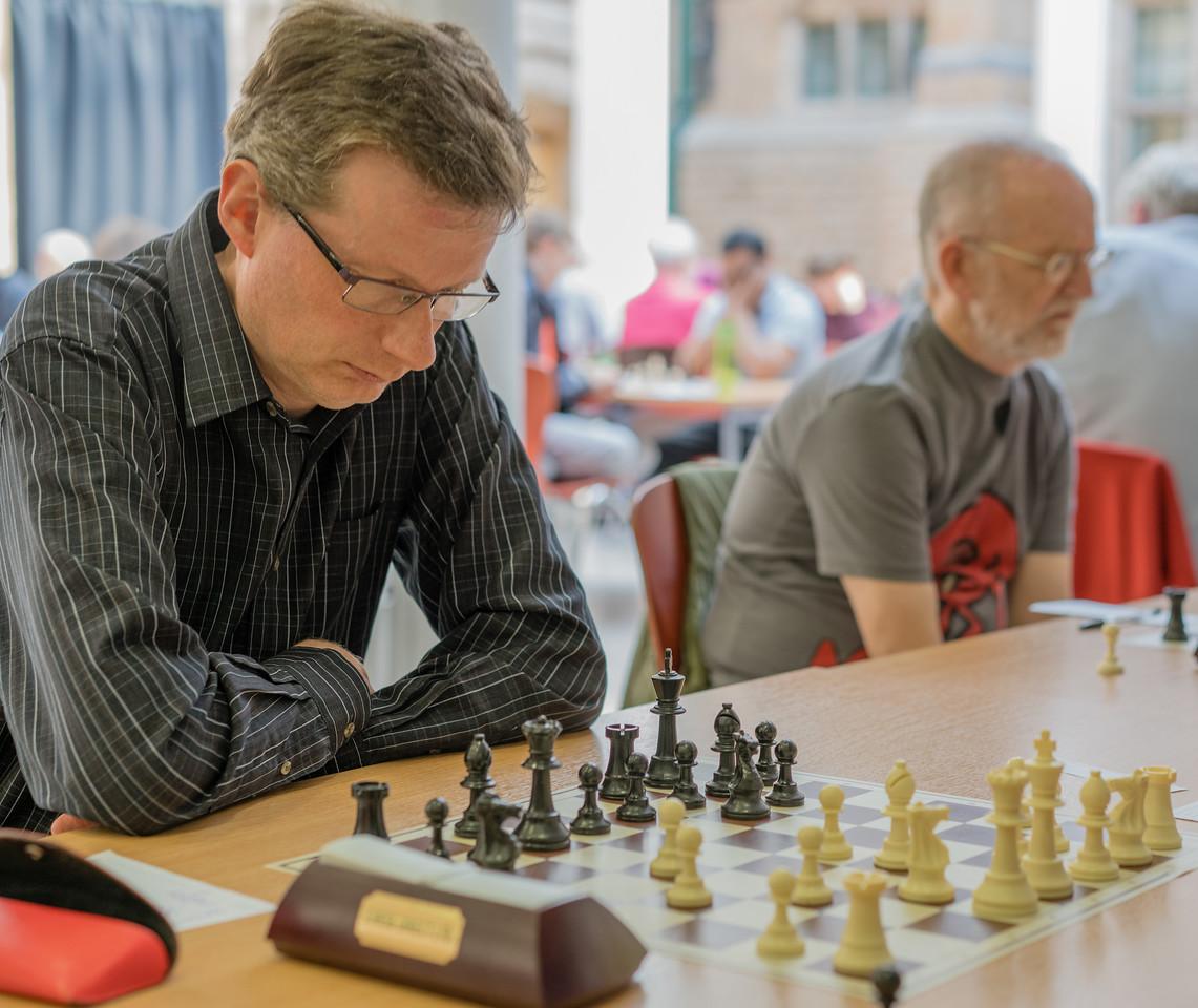 David Lees, major section joint winner