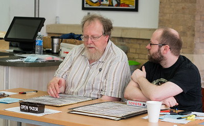 John Swain & Mike Naylor (arbiters)