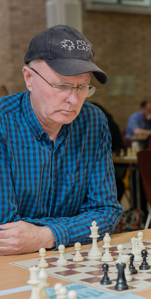 Robert Clegg, major section joint winner