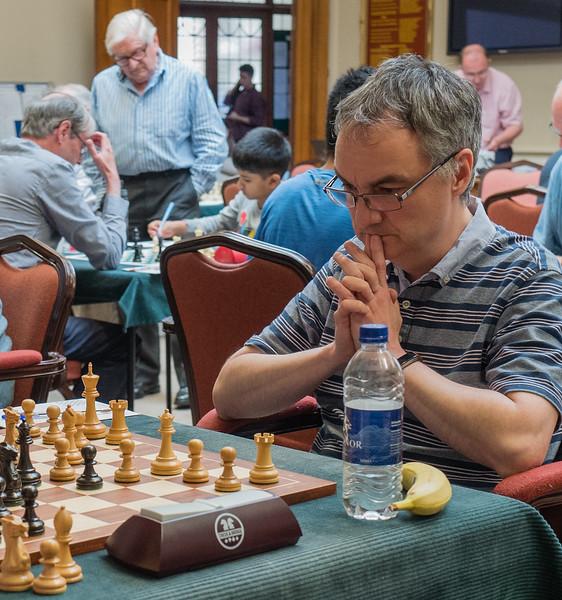 GM John Emms, open section winner