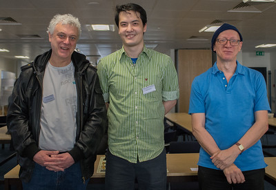 Three British Chess Champions: John Nunn, David Howell and Jonathan Mestel. Two of these GMs are ex-World Champions. Answers on a post card please!