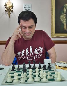 George Lekoudis, joint winner of u170 section