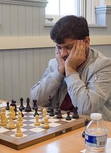 Khamparia Akshat, masters section joint winner