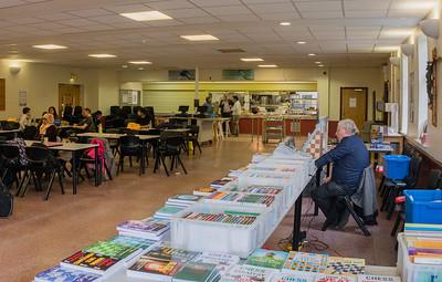 Cafeteria & Bookstall