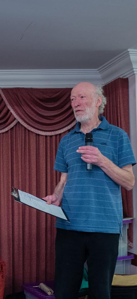 Ken Alexander, congress organiser