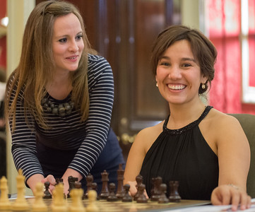 ? & Nicole Miranda (right, Oxford)
