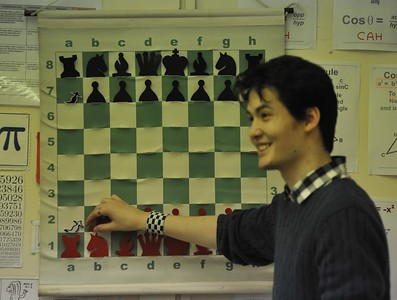 David analysed three of his favourite games in entertaining detail.