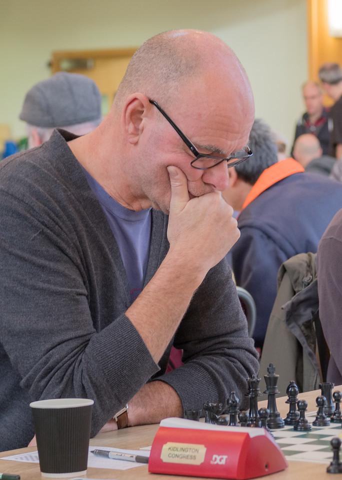 Richard George, u170 section winner