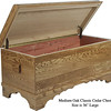 "Classic Cedar Chest 36"" - Medium Oak"