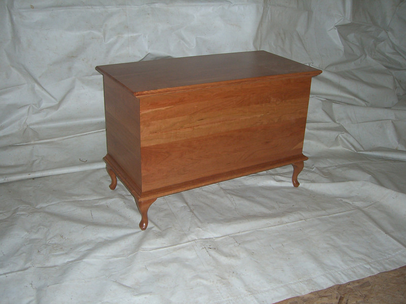 Deep Dowry Chest