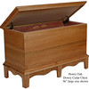 "Dowry Chest 36"" - Honey Oak"