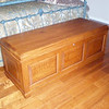 "Quarter Sawn 58"" - Autumn Oak Chest"