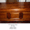 Antique Cherry Custom Side Harmony Style Chest