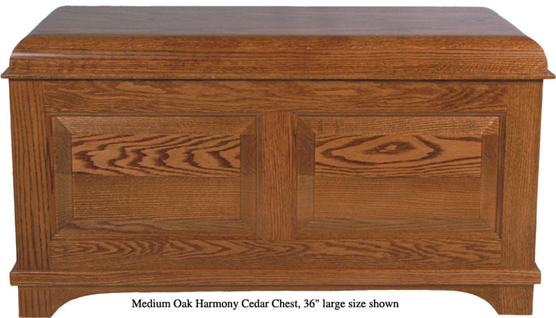 "Harmony Chest 36"" - Medium Oak"
