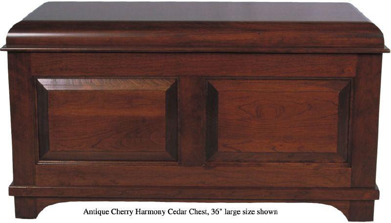 """Harmony Chest 36"""" - Antique Cherry"""