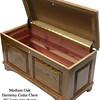 "Harmony Chest 36"" - Medium Oak"