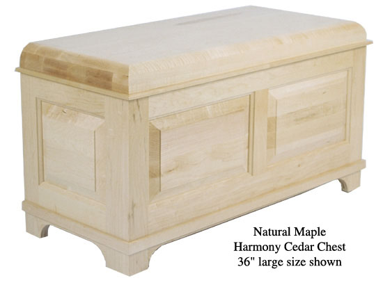 "Harmony Chest 36"" - Natural Maple"