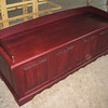 "MERLOT Cherry 64"" long Hope Chest"