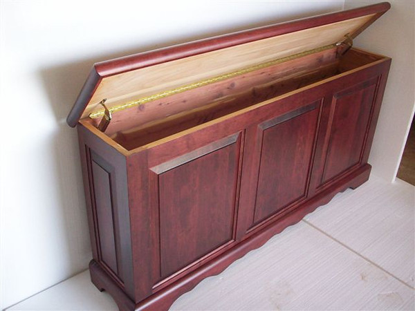 Custom MERLOT Cherry Hope Chest