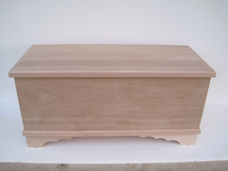 Lancaster Chest - Unfinished Maple - Classic Bottom
