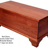 Red Cherry Lancaster Chest - Waterfall Bottom