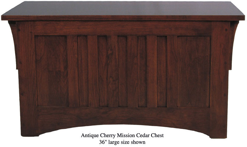 "Mission Chest 36"" - Antique Cherry"
