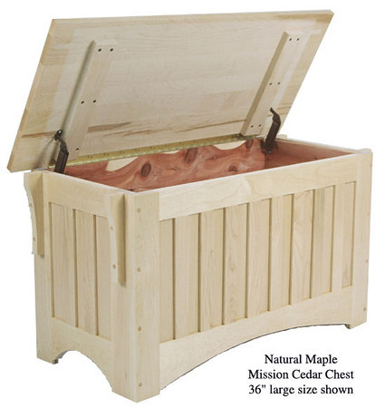 """Mission Chest 36"""" - Natural Maple"""