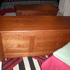 "Shaker Chest 58"" - Mahogany Oak"
