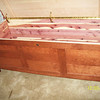Shaker Chest - Red Cherry