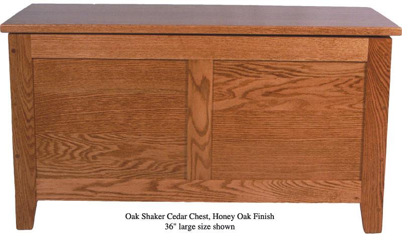 """Shaker Chest 36"""" - Honey Oak"""