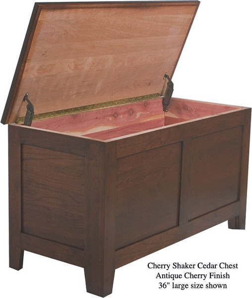 "Shaker Chest 36"" - Antique Cherry"