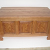 "Sleigh Chest 36"" - Medium Oak"