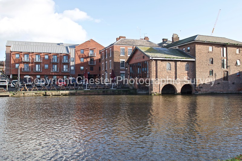 Telford's Warehouse and The Towpath: Raymond Street