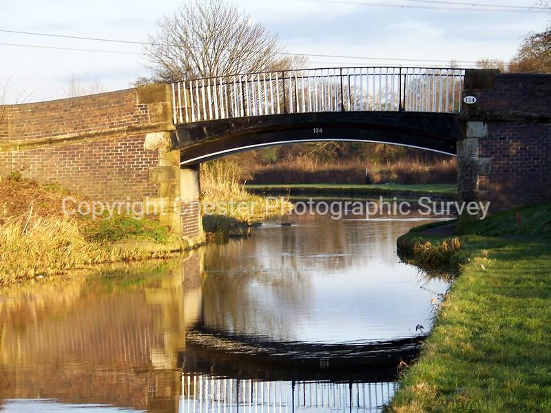 Caughall Iron Bridge No 134: Caughall Road