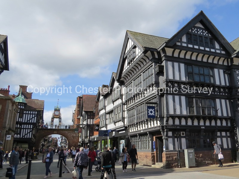 Eastgate, Clock and 1-15: Foregate Street