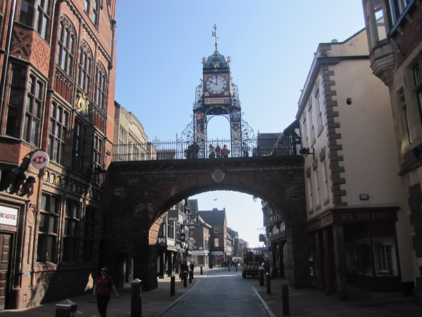 Eastgate and Clock: Eastgate Street