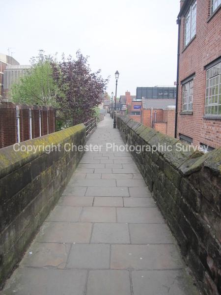 East wall: City Walls