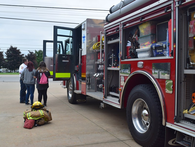 The Chesterfield Township Fire Department invited area families to the station on 23 Mile Road for its annual open house on Oct. 7, 2018. (Photos by Katelyn Larese)