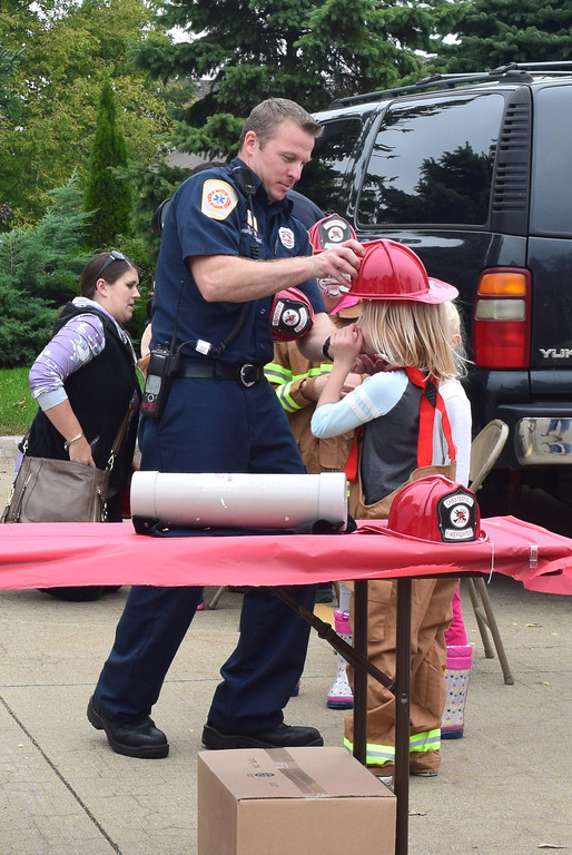 . The Chesterfield Township Fire Department invited area families to the station on 23 Mile Road for its annual open house on Oct. 7, 2018. (Photos by Katelyn Larese)
