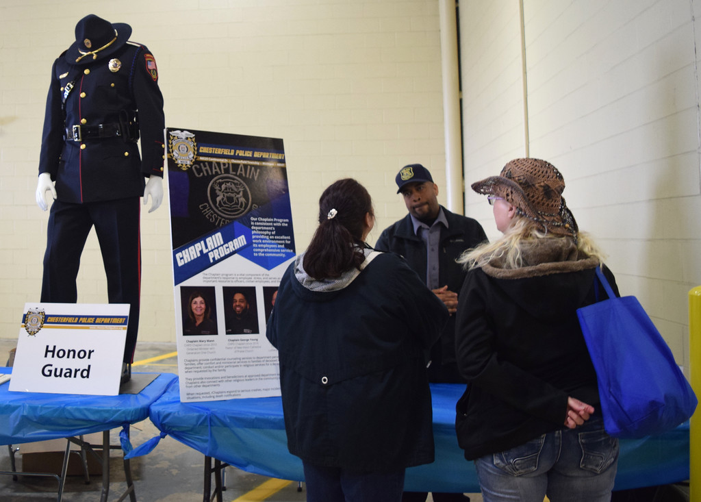 . Displays, demonstrations, live music, food and other activities highlighted the Chesterfield Township Police Department�s 2019 open house. (Photos by Katelyn Larese)