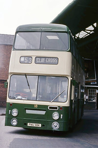 Chesterfield 118 Vicar Lane Bus Station Chesterfield Aug 85