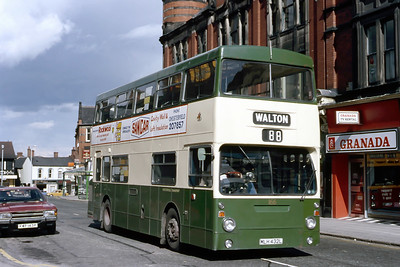 Chesterfield Transport Buses and Coaches in the 1980's and 1990's