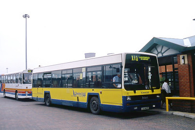 Chesterfield 61 Meadowhall Bus Station Sheffield Jun 93