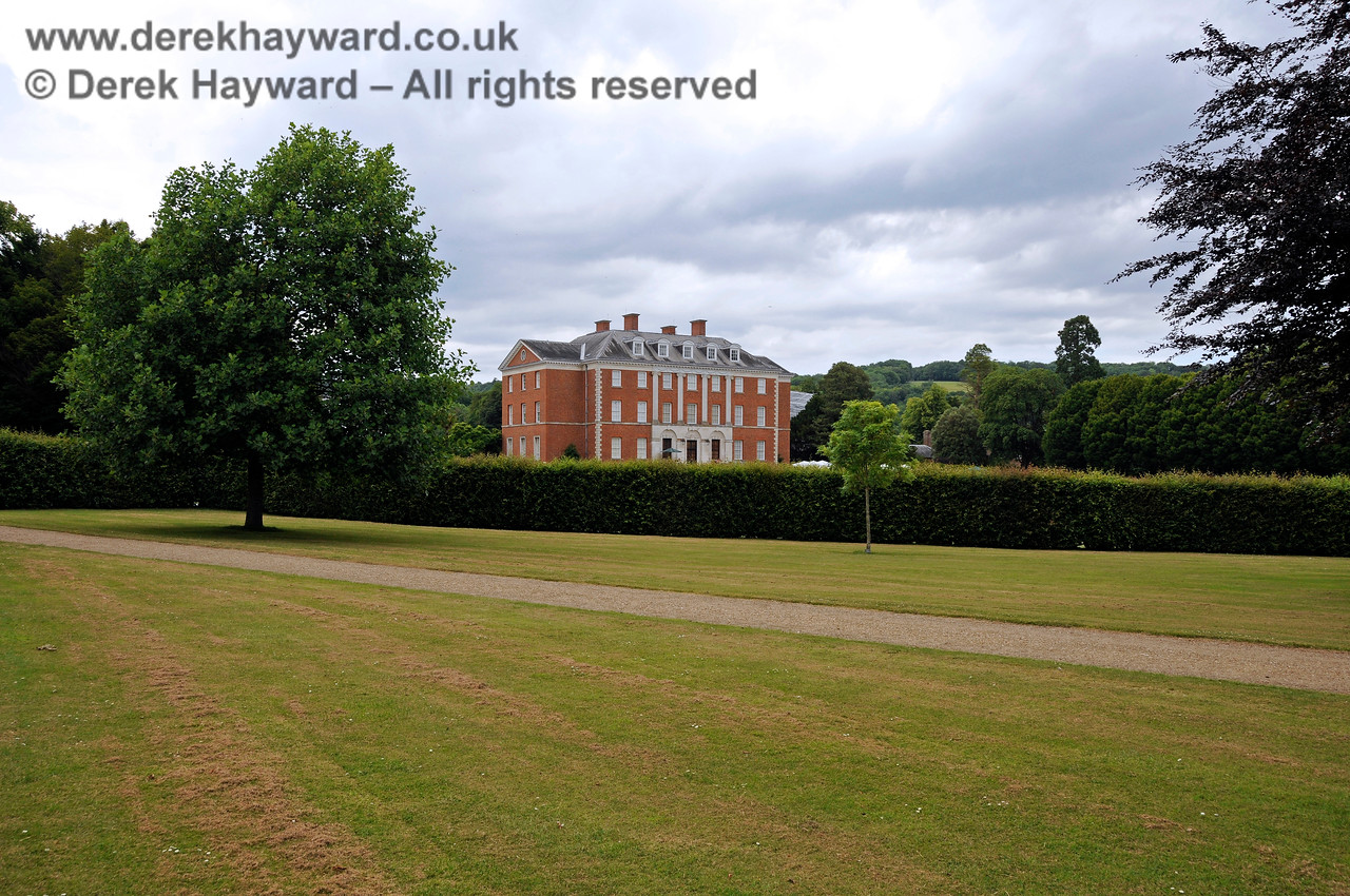 Chevening House, looking north from the outer part of the grounds.  22.06.2014  10744
