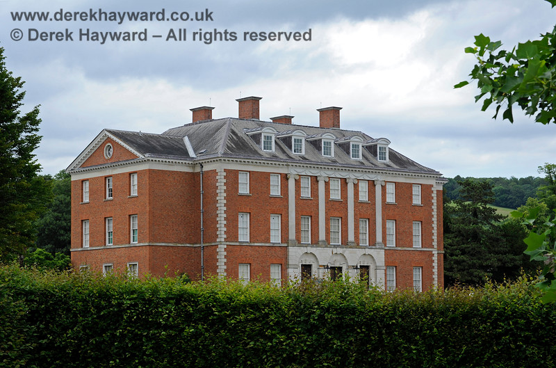 Chevening House, looking north from the outer part of the grounds.  22.06.2014  9674